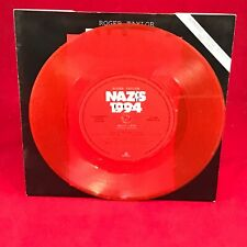 "ROGER TAYLOR Nazis 1994  UK 7"" RED Vinyl Single EXCELLENT CONDITION 45 QUEEN"