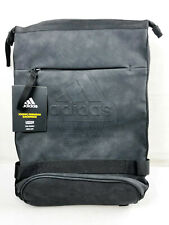 ADIDAS ICONIC PREMIUM BACKPACK - BLACK - BRAND NEW WITH TAGS
