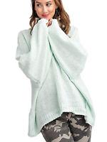 Anna-Kaci Women's Long Sleeve Cross Backless Knit Pullover Sweater