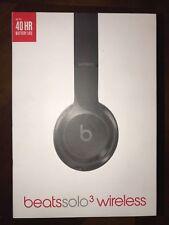 New Beats dr.dre BEATSSOLO 3 WIRELESS On-Ear Headphone A1796 (Gloss Black)