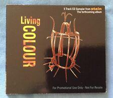 LIVING COLOUR - STAIN - 5 TRACK PROMO CD SAMPLER - XPCD246 - 1992