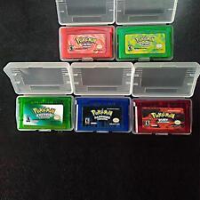 Game Boy Advance Pokemon  Game Bundle FireRed Sapphire Leaf Green Ruby Emerald