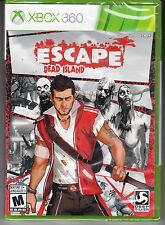 Escape Dead Island Xbox 360 *NEW SEALED*