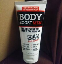 Body Boost turbo Stretch Mark Treatment for Men weight training formula new!