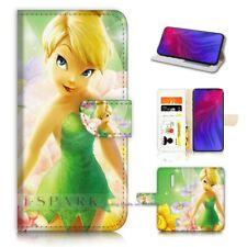 ( For Oppo Reno Z ) Flip Wallet Case Cover PB21063 Tinkerbell