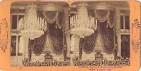 Torino Turino Palais Del Roi Italia Stereo J.Andrieu Parigi Albumina c1870