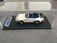 1/43 PORSCHE 911 CABRIO  TURBO   PEARL WHITE from LOOKSMART