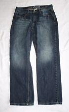 Urban Up Slim Straight Blue Jeans Mens Boys W28 H35 R9 L29