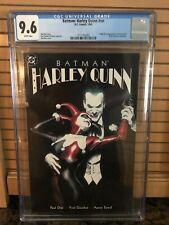 Batman Harley Quinn 1st print CGC Graded 9.6 -1st App in DCU Alex Ross