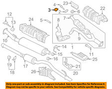 FORD OEM Exhaust System-Catalytic Converter Gasket BL3Z9450A