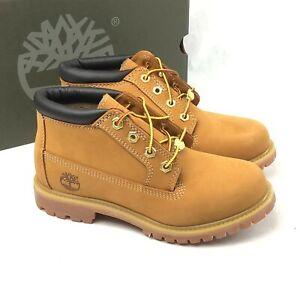 Size 6 WIDE Women's Timberland Nellie Waterproof Chukka Boot Wheat TB023399