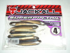 "JACKALL SUPERPIN-TAIL Soft Plastic Dropshot 4"" 7ct - SILVER SHAD - SUPERPIN-TAIL"