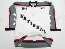 2005 ECHL ALL STAR GAME NATIONAL AUTHENTIC REEBOK 6100 HOCKEY JERSEY SIZE 54