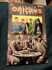 Secret Origins Tpb Dc comics #1 batman superman 1St print Vg gn trade paperback