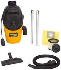 Shop-Vac 2860010 4 Gallon 6.5 Peak HP Backpack Dry Vacuum Cleaner W/ 25 ft. Cord