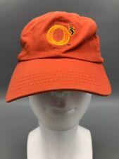 O3 Bacardi Silver Rum Baseball Cap Hat Adjustable Embroidered Logo Orange