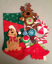 Dog Toy Mystery Stocking-Dog Toys in a Cute Xmas Stocking***BENEFITS RESCUE***