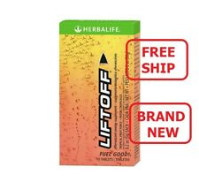 Herbalife Liftoff Effervescent Energy Supplement Tropical Fruit Force 10 Tablets