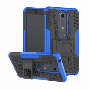Shockproof Case Hard Protective Kickstand Slim Phone For Nokia 6.1/Nokia 6 2018