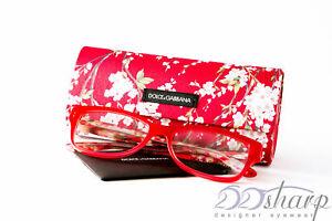 Dolce Gabbana Eyeglasses-DG 3204 2850 Opal Red Floral