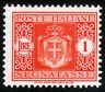 REGNO D'ITALIA - SEGNATASSE - STEMMA SABAUDO CON FASCI - Lire 1 Arancio - 1934
