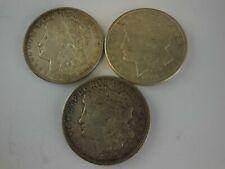 1921 & 1921-S Us Morgan Silver Dollars - Lot of 3 Coins - No Reserve!