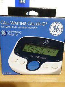GE Call Waiting Caller ID 70 Name & Number Memory 29096GE1-B new open box