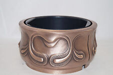 Grabschale aus Bronze Filthaut 35 cm, Pflanzschale