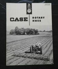 """1957 J I Étui """" Modèle B & Être Séries Rotatif Hoes """" Sales Catalogue Brochure"""