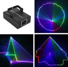 Mini 500mw RGB Laser Projector Light DMX Master-slave DJ Party Stage Light