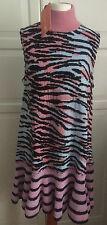 KENZO X H&M Kleid Tiger Kleid Wollmischung dress wool blend tiger stripe size S
