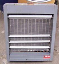 DAYTON 5PV47 STEAM & HOT WATER UNIT HEATER 60,000/43,600 BTU 75/150 PSI 900 CFM