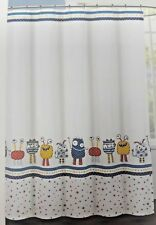 AUTHENTIC KIDS Shower Curtain Funny Monsters Creatures Kids Bathroom Room Decor