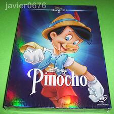 PINOCHO CLASICO DISNEY NUMERO 2 - DVD NUEVO Y PRECINTADO SLIPCOVER