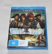 Pirates Of The Caribbean - On Stranger Tides (Blu-ray + DVD, 2011, 2-Disc Set)