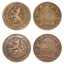 Netherlands - Lot  2½ Cent 1881, 1903