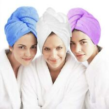 1xTurban Towels Twist Hair Quick Dry Microfiber Bath Towel Hair Wrap Cap Hat Spa
