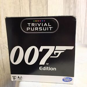TRIVIAL PURSUIT GAME JAMES BOND MOVIE FILMS 007 QUIZ PUZZLE 600 QUESTIONS NEW UK