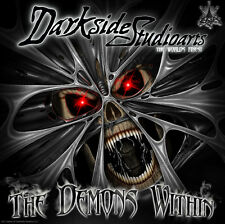 "YAMAHA RAPTOR 350 GRAPHICS WHITE ACCENTED DECALS WRAP KIT ""THE DEMONS WITHIN"""