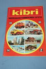KIBRI Katalog Catalog 1977-78 NL