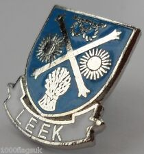 Leek Town Staffordshire County Small Pin Badge (1406)