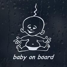 Little Baby On Board Car Or Laptop Decal Vinyl Sticker for Window Bumper Panel