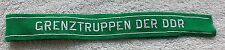 East German Army Cuff Title Border Guard Grenztruppen Der DDR NVA Uniform Patch