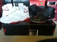 2008 Nike Air Jordan Collezione 16/7 VII XVI Retro CDP Countdown Pack 323941 992