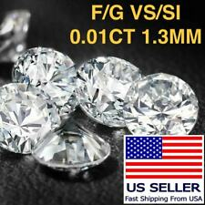 .01 Ct Loose Untreated Natural Diamond SI/VS Small Melee 1 Point Wholesale