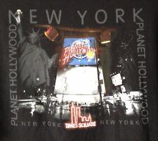 VINTAGE PLANET HOLLYWOOD NEW YORK 1998-T-SHIRT-XXL-RARE