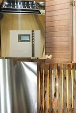 Kit de Sauna 34a Horno 7,5kw KW saunaalufolie Puerta 7x19 control D2