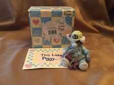 "This Little Piggy Handyman Figurine ""What A Handy Hog"" 167665"