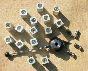 Myford 7 / Super7 Lever Operated Collet Chuck with 19  MA99E Collets