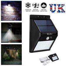 Outdoor 20 LED Solar Light PIR Sensor Wall Mount Garden Path Fence Security Lamp